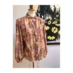 Vtg Andrew St John II blouse